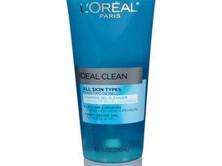 l Oreal Paris Ideal Clean Daily Foaming Gel Cleanser  6 8 fl  oz