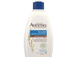 Aveeno Skin Relief Moisturizing lotion with Coconut Scent  12 fl  oz