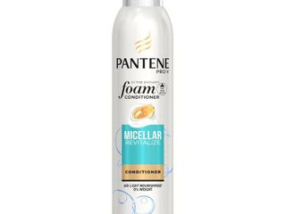 Pantene Pro V Micellar Revitalize Foam Conditioner   6 fl oz