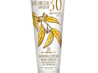Australian Gold Botanical Mineral Sunscreen lotion   SPF30   5oz