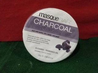Masque Bar Charcoal Peel Off Modeling Facial Cleansing Mask 28g