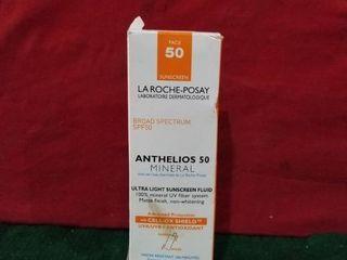 la Roche posay Anthelios Mineral Ultra light Sunscreen Spf 50 1 7 Floz Exp01 21