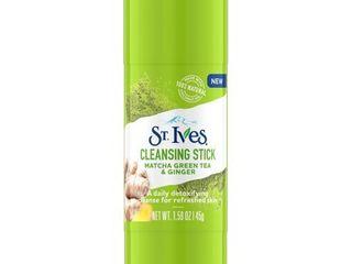 St  Ives Detox Matcha Green Tea   Ginger Cleansing Stick   1 59oz