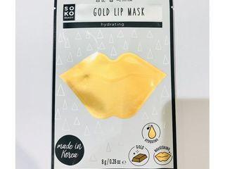 2 SOKO Gold lip Mask Hydrating