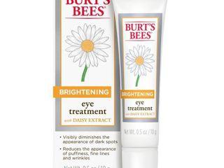 Burt s Bees Brightening Eye Treatment   0 5 oz