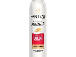 Pantene Pro V Radiant Color Shine Foam Conditioner  6 oz