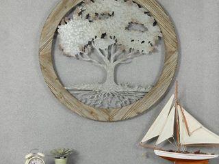Circular Tree Wall Decor