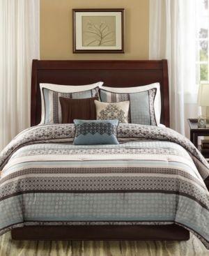 Cambridge 7 Piece Jacquard Comforter Set   King Cali King