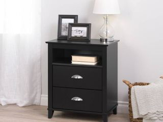 Prepac 2 Drawer Accent Table