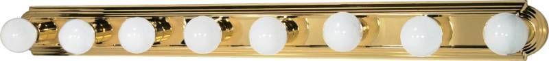 Nuvo 60 311 48  Eight light Vanity Strip