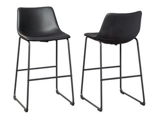Centiar Casual Tall Upholstered Barstool   Set of 2