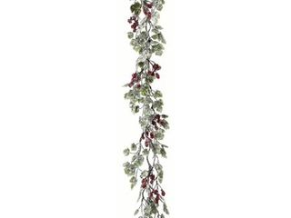 Frost Mini Grape leaf  amp  Berries Garland