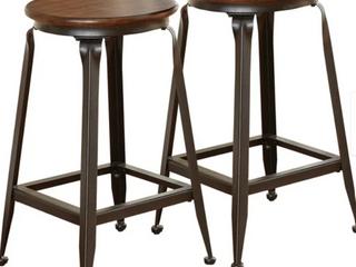 Carbon loft Johansson Counter Height Pub Table Stool   Set of 2