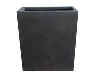 Kante lightweight Concrete Modern long  amp  High Rectangle Planter