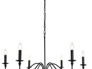 Rohan Collection 6 light Chandelier