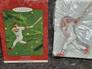 Hallmark Keepsake Ornament Collector s Series 2000 Mark Mcgwire At The Ballpark