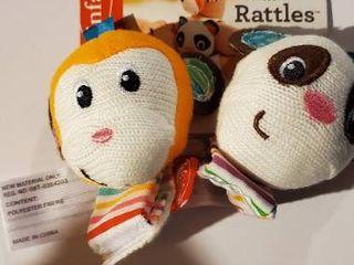 Pair of Wrist Rattles