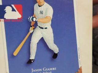 Hallmark Keepsake 2003 Jason Giambi At The Ballpark Ornament Mlb Ny Yankees