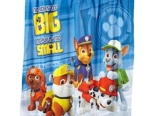 Paw Patrol Rescue Crew Shower Curtain