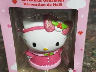 Hello Kitty By Sanrio Christmas Ornament