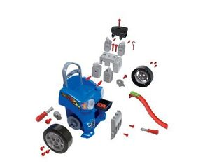 Kid Connection Take Apart Car Engine and Racetrack Play Set  37 Pieces