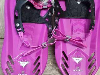Winterial Pika Kids Snowshoes  Snowshoes  Kids  Snowshoeing  Youth Snowshoes  Flat Terrain Snowshoes