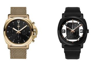 George Dress   Casual Analog Quartz Watch Set   Gold and Black