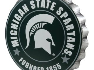 Michigan State Spartans NCAA 2016 Metal Bottle Cap Wall Sign
