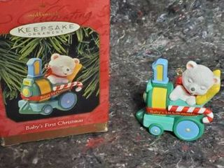 hallmark baby s first christmas ornament 1999