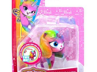 Rainbow Butterfly Unicorn Kitty Unicorn Power Kitty Figure Set