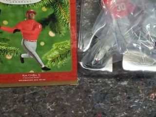 2000 Ken Griffey Jr  Cincinnati Reds Hallmark Christmas Ornament Mlb Baseball
