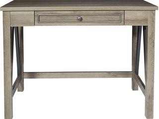 42  Braydon Writing Desk Gray Oak   OSP Home Furnishings