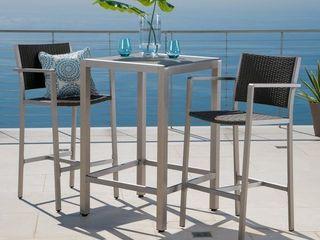 Steinhatchee 2 piece Outdoor Bar Set by Havenside Home  Retail 544 49