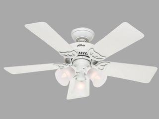 Hunter Fan Southern Breeze Ceiling Fan  White