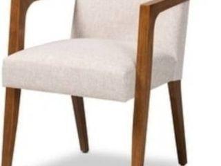 Andrea Mid Century Modern Wood Armchair  Retail 178 49