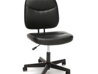 Model ESS 6005 Essentials by OFM Armless leather Desk Chair