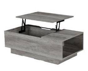 Klondike 16 34 in  H Vintage Gray Oak Coffee Table