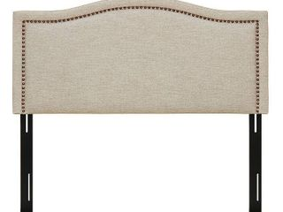 Augusta linen Upholstery Headboard by Madison Park  Retail 252 61