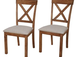 Simple living Verdon Dining Chair   Set of Two  Retail 168 99