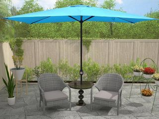 Maypex 10 X 6 5 Feet Rectangular Market Umbrella   Retail 88 99