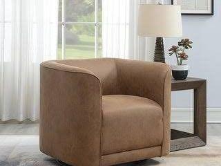 Strick   Bolton Mason Contemporary Swivel Accent Chair  Retail 384 49