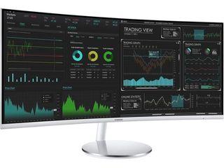 SAMSUNG 34  Class Widescreen WQHD PlS Panel  3440 x 1440  Curved Monitor   lC34J791WTNX ZA Retails   690