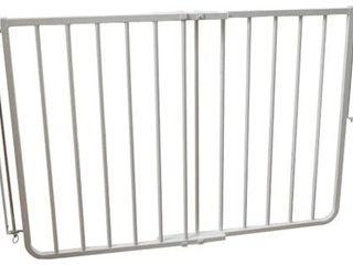 Cardinal Gates Stairway Angle Baby Gate 27 41 5  White