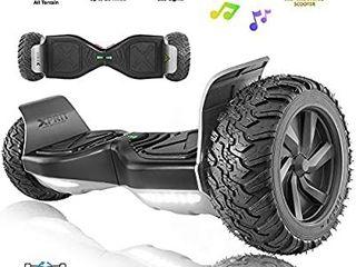 8 5  Wheel Hoverboard w Bluetooth Speaker   All Terrain Ul2272 Certified