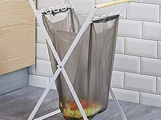 KOOTANS Camping Trash Bag Holder Stand Portable Foldable Waste Sorting Garbage Bags Rack Rubbish Storage Organizer for Bedroom  Kitchen  Camping