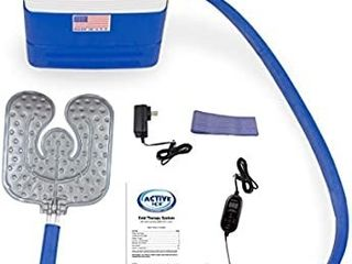 Active IceAr 3 0 Universal Pad Cold Therapy System with Programmable Digital Timer  9 Quart Cooling Reservoir