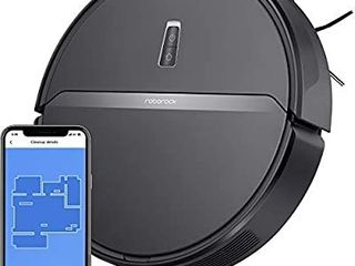 Roborock E35 Robot Vacuum and Mop  2000Pa Strong Suction  App Control  and Scheduling  Route Planning  Handles Hard Floors and Carpets Ideal for Homes with Pets