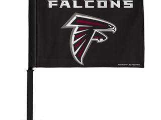 NFl Rico Industries Car Flag including Pole  Atlanta Falcons