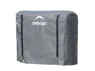 Shelterlogic Firewood Rack in a Box Universal Full length Cover for Firewood Storage Racks  Fits Most 4 Feet Firewood Racks