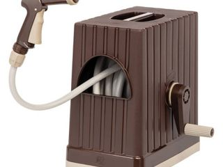 IRIS 98 42 FT Hose Reel with Nozzle  Brown